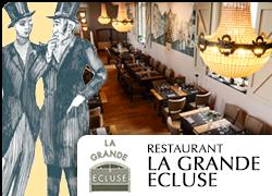 web Restaurant La Grande Ecluse